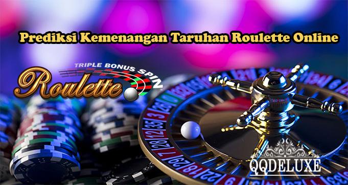 Prediksi Kemenangan Taruhan Roulette Online