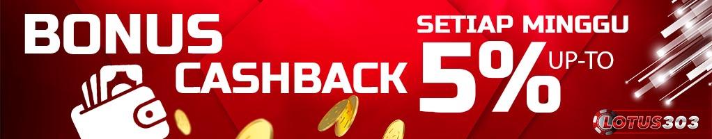bonus cashback judi online